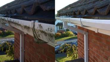 3. Gutters Cleaned, Repaired or Replaced